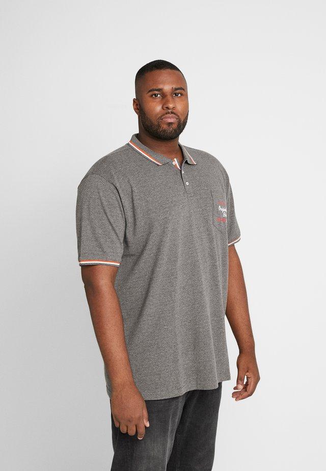 APPLIQUÉ  - Polo shirt - grey melange
