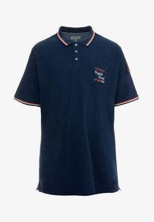 APPLIQUÉ  - Polo shirt - blue melange