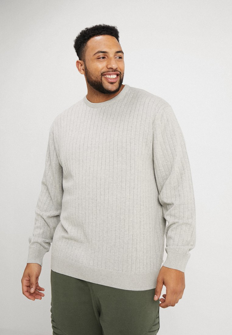 Grey Jack´s Sportswear DropPullover Light Melange Needle cjA4S5q3RL