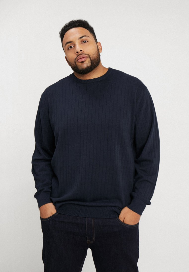 Jack´s Sportswear - NEEDLE DROP - Jumper - navy