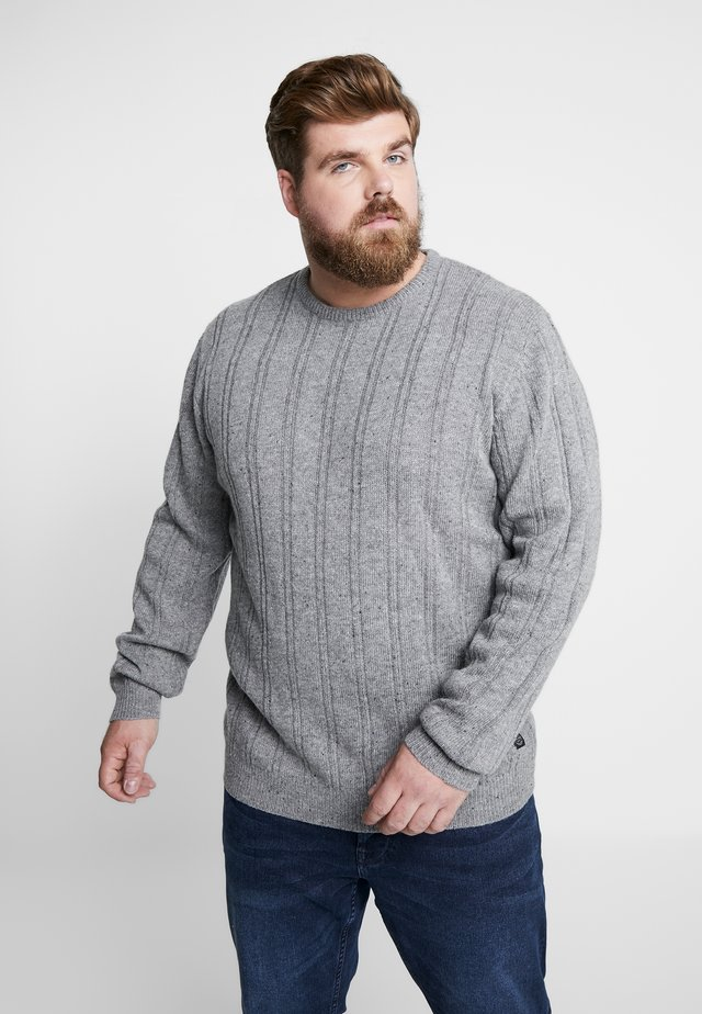 CREW NECK - Strikkegenser - grey
