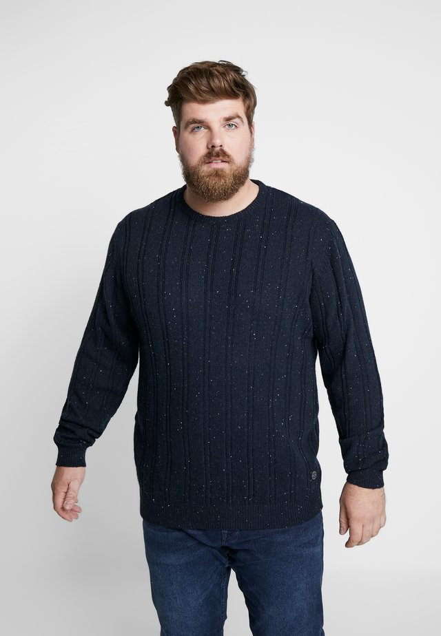 CREW NECK - Strikkegenser - navy