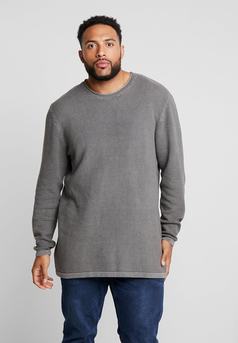 Jack´s Sportswear - ROLL EDGE - Jumper - dusty grey