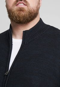 Jack´s Sportswear - HIGH NECK ZIP - Kardigan - dark blue - 4
