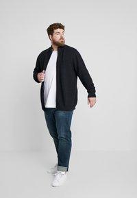 Jack´s Sportswear - HIGH NECK ZIP - Kardigan - dark blue - 1