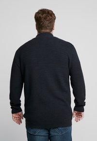Jack´s Sportswear - HIGH NECK ZIP - Kardigan - dark blue - 2