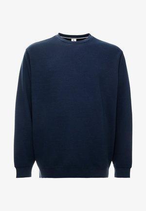STRUCTURE NECK SWEATSHIRT - Sweatshirt - navy