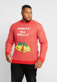 Jack´s Sportswear - CHRISTMAS O-NECK - Jumper - red - 0