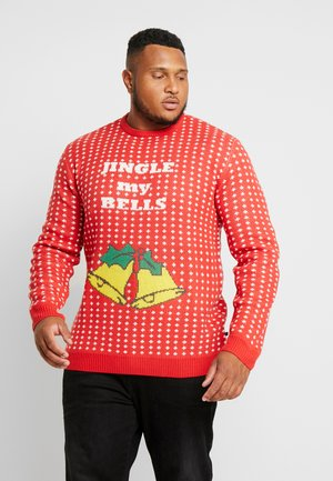 CHRISTMAS O-NECK - Maglione - red