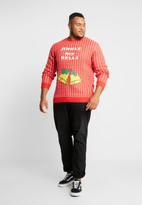 Jack´s Sportswear - CHRISTMAS O-NECK - Jumper - red