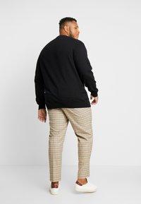 Jack´s Sportswear - GEOMETRIC PATTERN O-NECK - Svetr - black - 2
