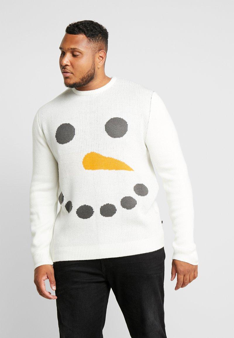 Jack´s Sportswear - CHRISTMAS HUMOR - Jumper - white