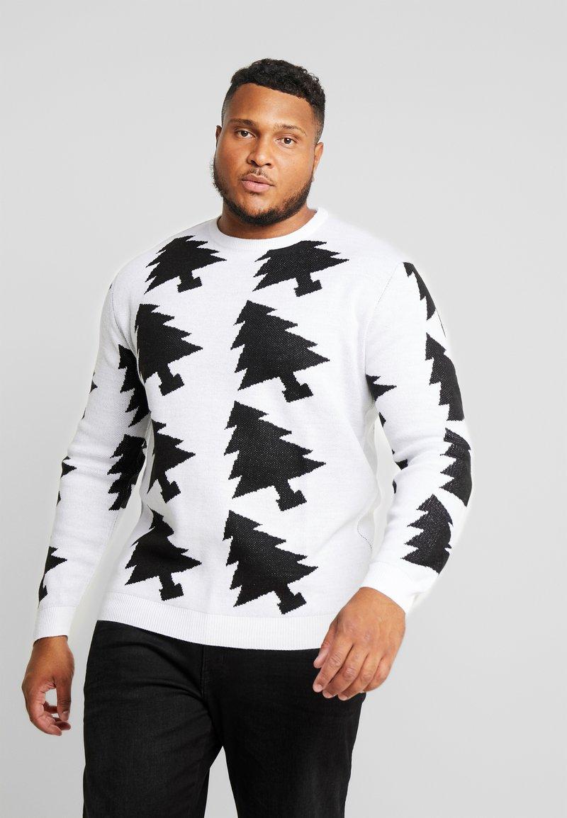 Jack´s Sportswear - XMAX TREES - Jumper - white