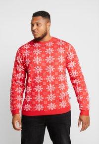 Jack´s Sportswear - XMAS ICEFLOWER - Jumper - red - 0