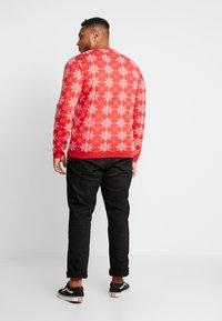 Jack´s Sportswear - XMAS ICEFLOWER - Jumper - red - 2