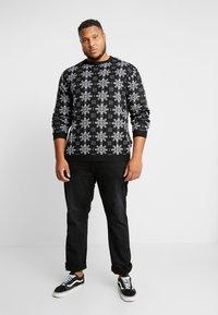 Jack´s Sportswear - XMAS ICEFLOWER - Jumper - black - 1