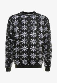 Jack´s Sportswear - XMAS ICEFLOWER - Jumper - black - 4
