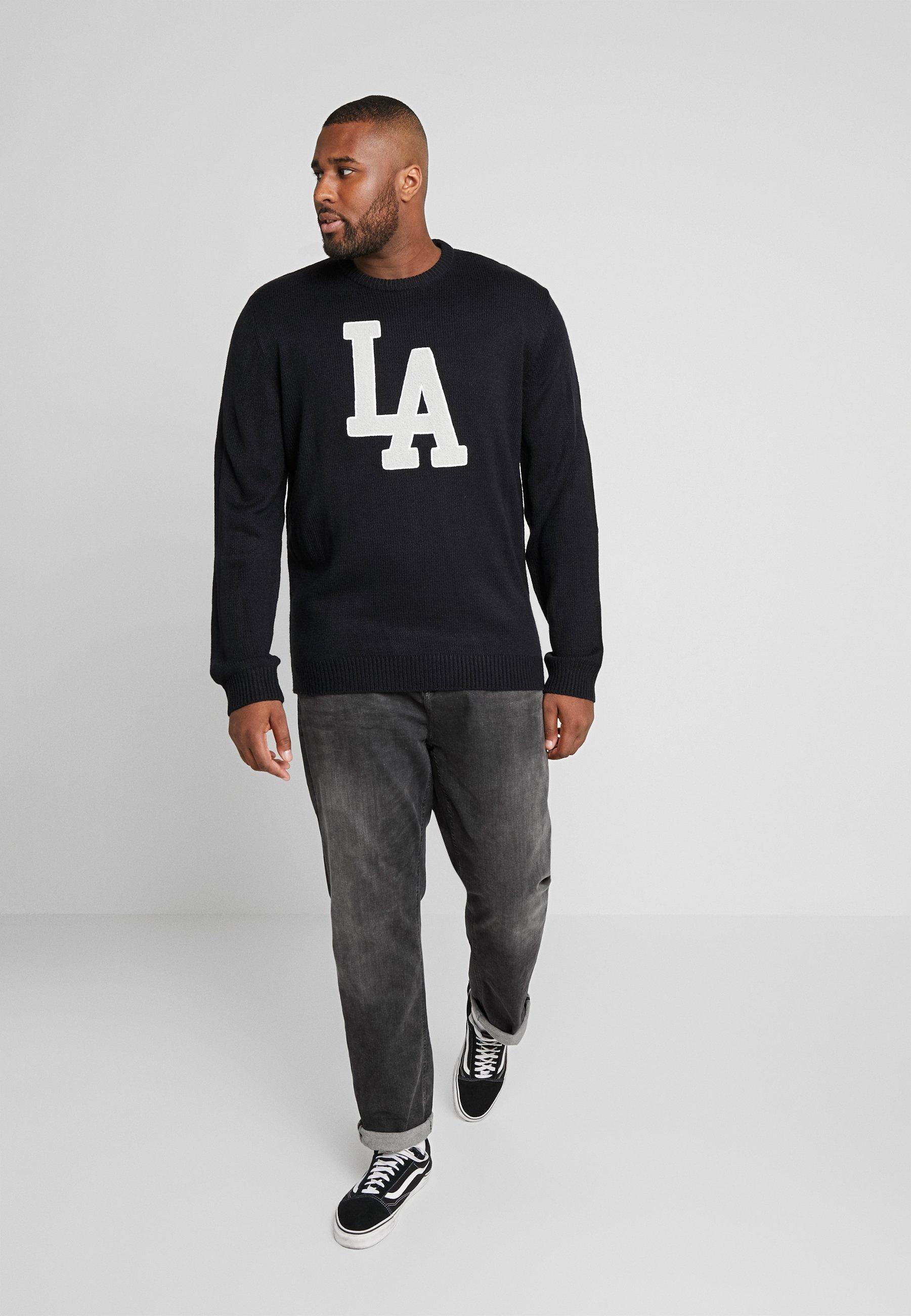 Jack´s Sportswear CREW NECK - Jersey de punto - black