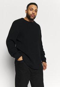 Jack´s Sportswear - O-NECK - Jumper - black - 0