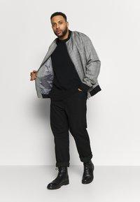 Jack´s Sportswear - O-NECK - Jumper - black - 1