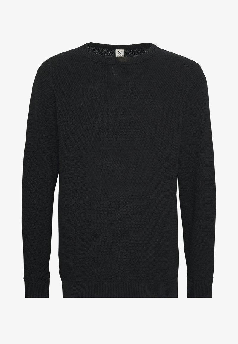 Jack´s Sportswear O-NECK - Strikkegenser - black