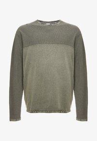 Jack´s Sportswear - ROLL EDGE TEXTURE - Neule - army - 4