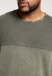 Jack´s Sportswear - ROLL EDGE TEXTURE - Neule - army - 5