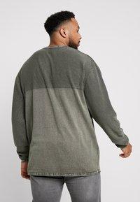 Jack´s Sportswear - ROLL EDGE TEXTURE - Neule - army - 2