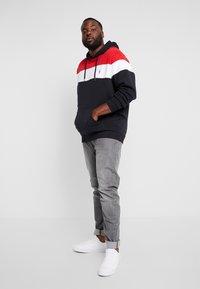 Jack´s Sportswear - HOODIE PANELS  - Huppari - navy - 1