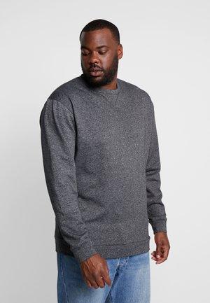 CREW NECK - Sweatshirt - black mix
