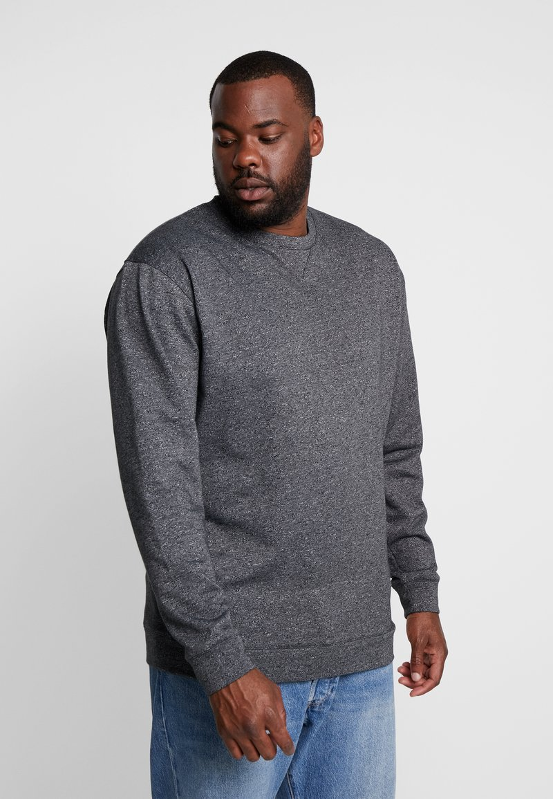 Jack´s Sportswear - CREW NECK - Sweatshirt - black mix