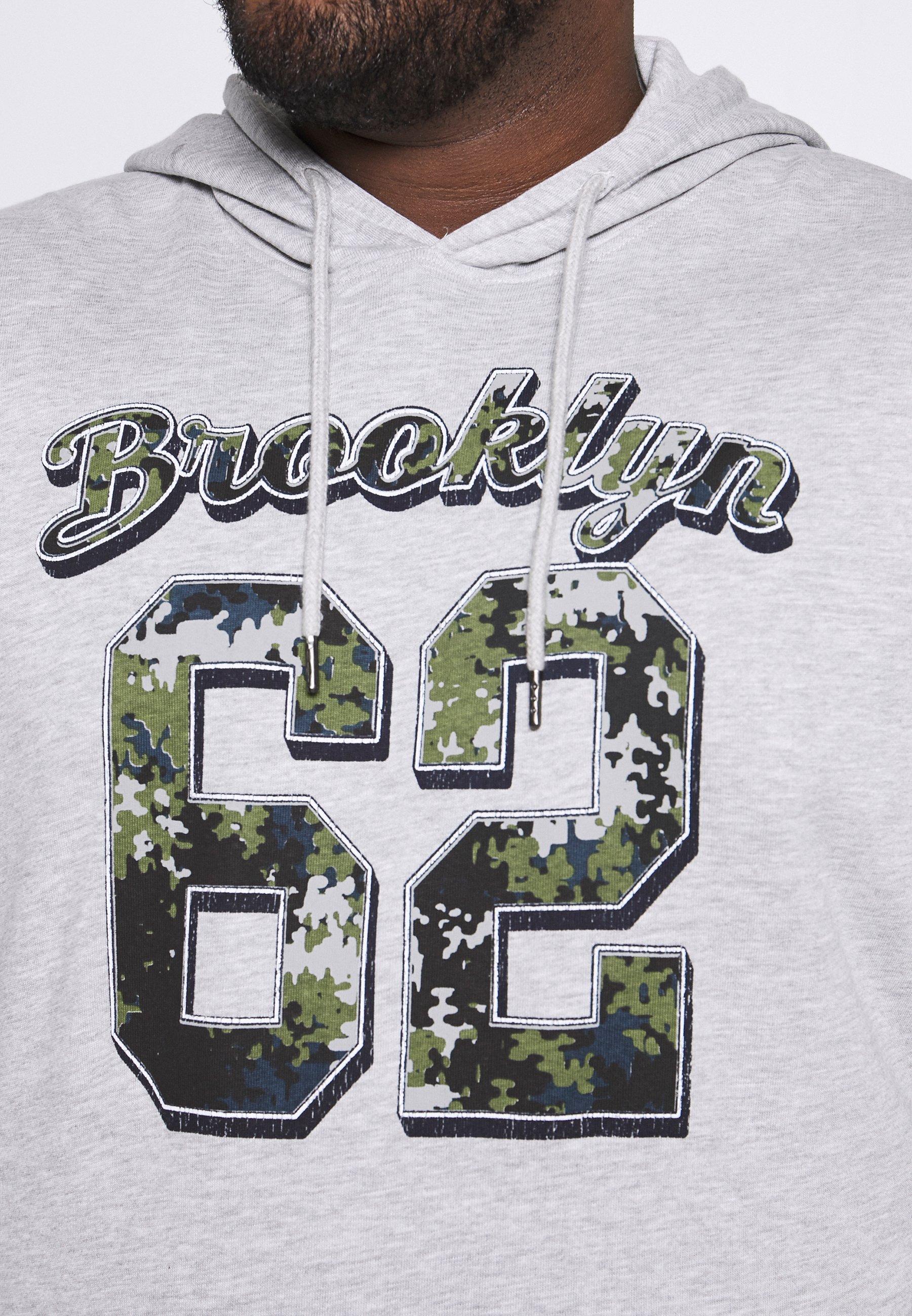 Jack´s Sportswear Brooklyn - Luvtröja Grey Mel