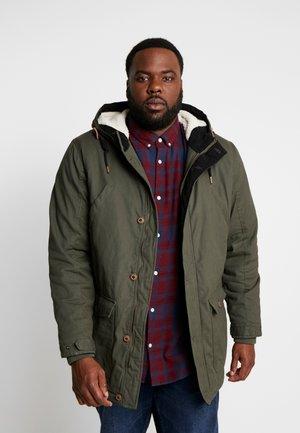 PILE - Zimní kabát -  army
