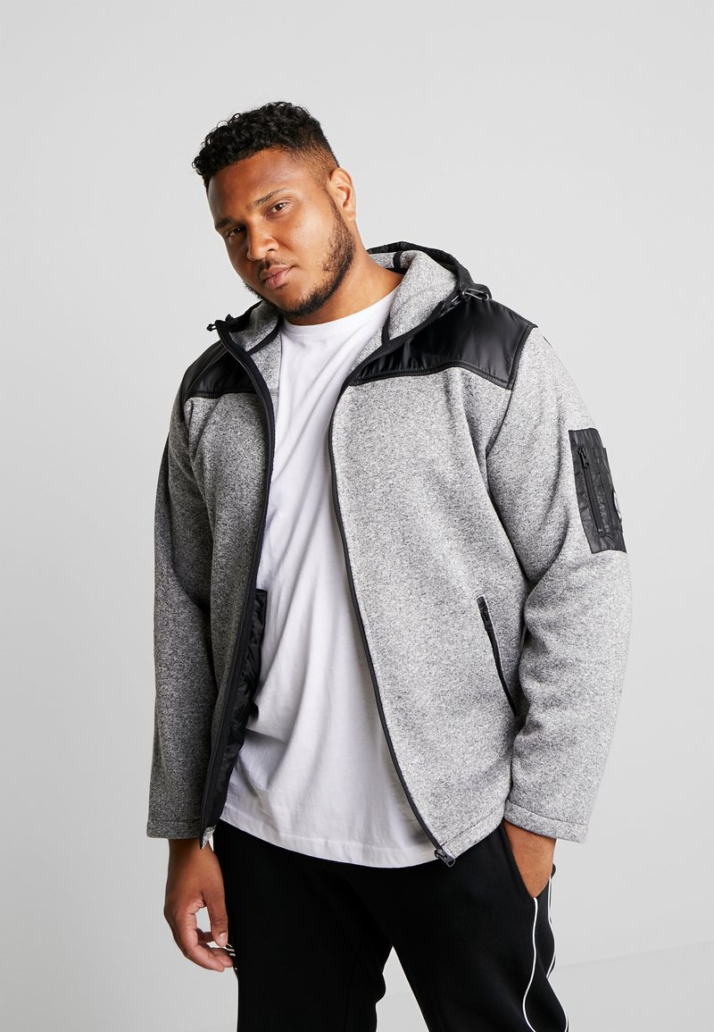 Jack´s Sportswear - HEAVY HOOD - Zip-up hoodie - light grey
