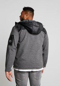 Jack´s Sportswear - HEAVY HOOD - Collegetakki - black - 2