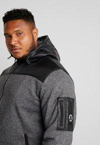 Jack´s Sportswear - HEAVY HOOD - Collegetakki - black - 4