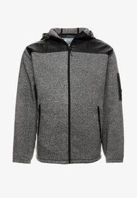 Jack´s Sportswear - HEAVY HOOD - Collegetakki - black - 3