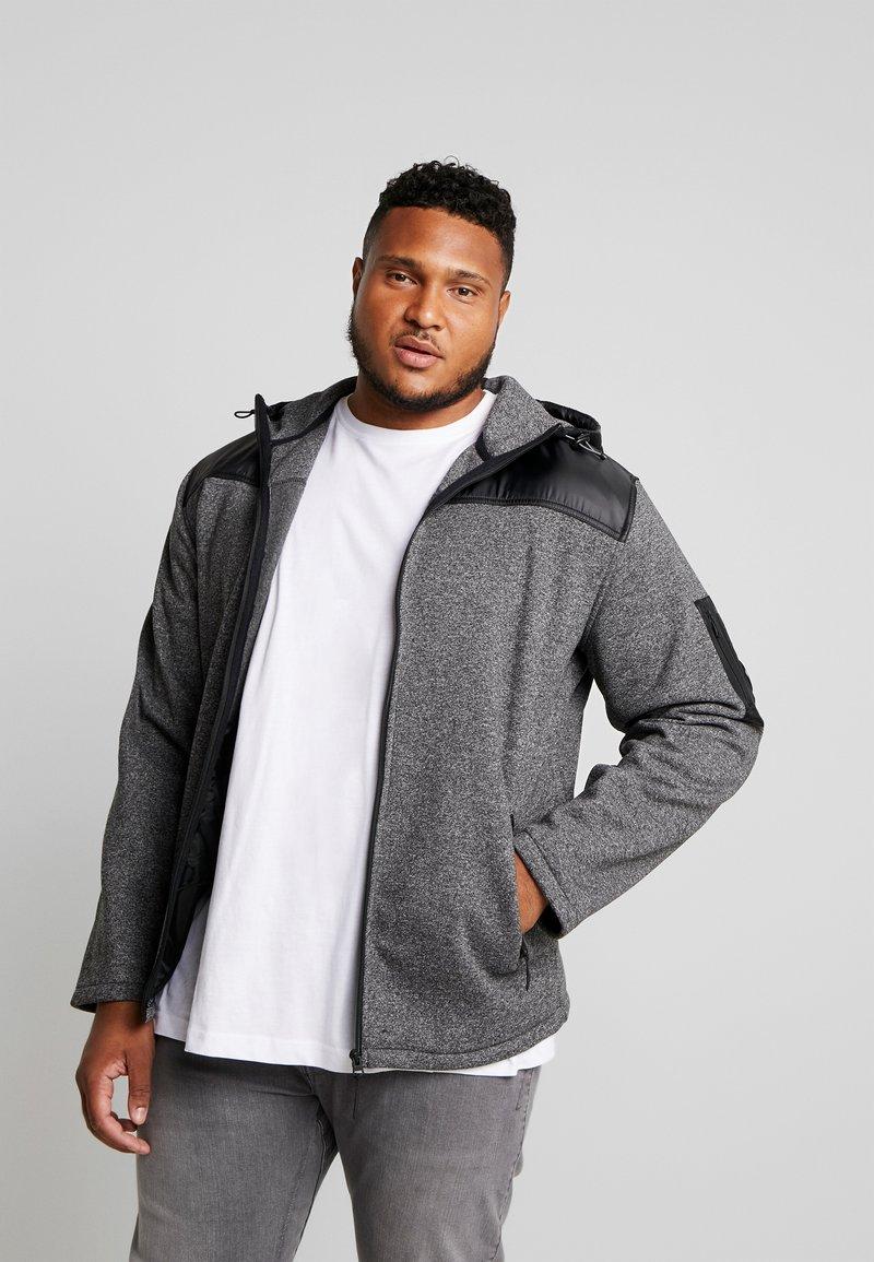 Jack´s Sportswear - HEAVY HOOD - Collegetakki - black