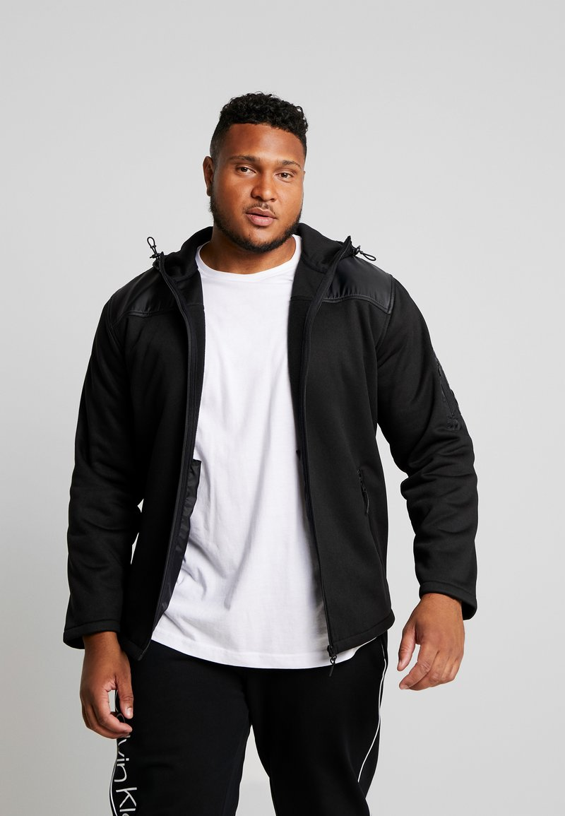 Jack´s Sportswear - HEAVY HOOD - Zip-up hoodie - black