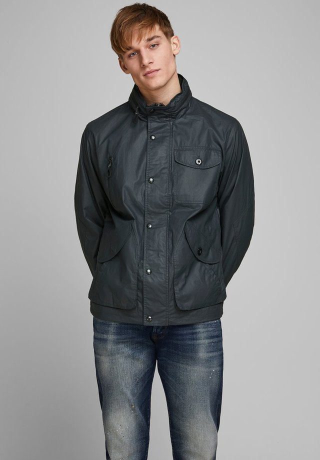Waterproof jacket - dark navy