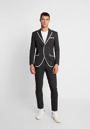 JPRMAX SUIT SLIM FIT - Jakkesæt - dark grey