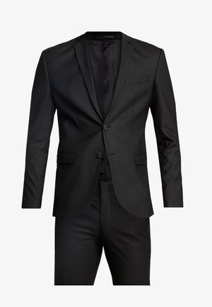 JPRFRANCO SUIT SLIM FIT - Oblek - black