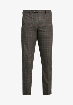 JPRLUCAS SID TROUSER - Pantalon de costume - dark grey