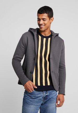 JPRALEX BLA HOOD - Blazer jacket - asphalt