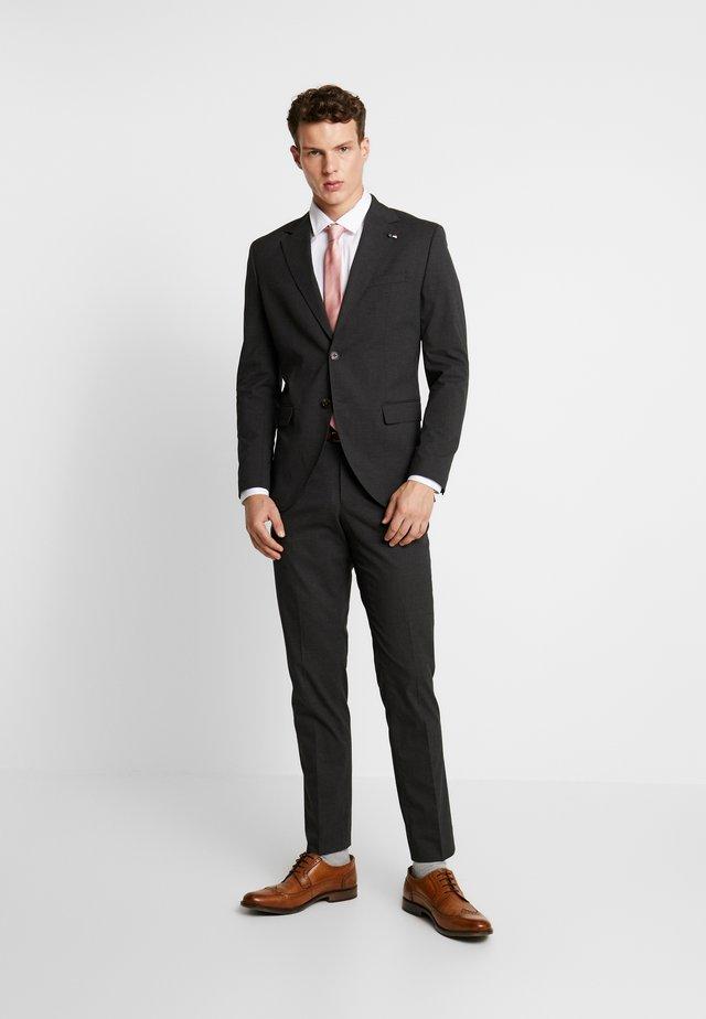 JPRMELVIN SUIT SUPER SLIM FIT - Suit - dark grey