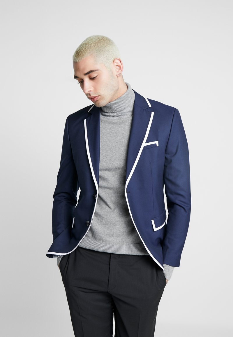 Jack & Jones PREMIUM - JPRMAX SLIM FIT - Blazer jacket - dark navy