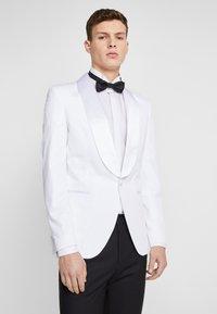 Jack & Jones PREMIUM - JPRLEONARDO SLIM FIT - Giacca elegante - white - 0