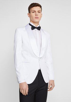 JPRLEONARDO SLIM FIT - Marynarka garniturowa - white