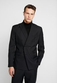Jack & Jones PREMIUM - JPRPHILIP DOUBLE BREASTED BLAZER  - Costume - black - 2