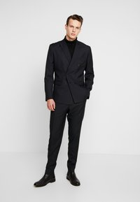 Jack & Jones PREMIUM - JPRPHILIP DOUBLE BREASTED BLAZER  - Costume - black - 0